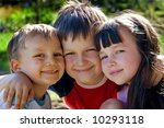 happy kids | Shutterstock . vector #10293118