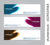 banner background.modern vector ... | Shutterstock .eps vector #1029324565