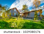countryside settlement. private ... | Shutterstock . vector #1029380176