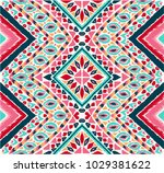 indian embroidery. geometric... | Shutterstock .eps vector #1029381622