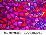 fragments of a mirror. mosaic...   Shutterstock . vector #1029383062