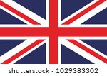 united kingdom flag. flag of... | Shutterstock .eps vector #1029383302