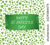 greeting card for st. patrick's ... | Shutterstock .eps vector #1029384475