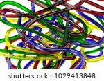plastic or silicone multi... | Shutterstock . vector #1029413848