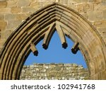 Pointed Arch In Egglestone...