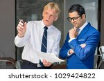 executive consulting young...   Shutterstock . vector #1029424822