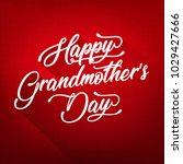 happy grandmother's day...   Shutterstock .eps vector #1029427666