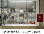 michael kors shop at emquatier  ... | Shutterstock . vector #1029431596