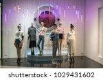 chaps shop at emquatier ... | Shutterstock . vector #1029431602