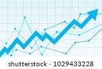 stock market diagram | Shutterstock .eps vector #1029433228