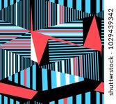 seamless beautiful geometric... | Shutterstock .eps vector #1029439342