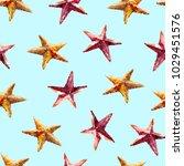 seamless watercolor pattern... | Shutterstock . vector #1029451576