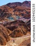 golden canyon  california  usa | Shutterstock . vector #1029452155