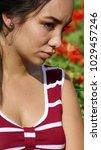sad peruvian juvenile   Shutterstock . vector #1029457246