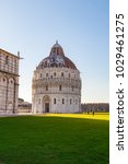 Pisa Baptistery In Square Of...