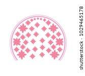 floral vector illustration | Shutterstock .eps vector #1029465178