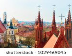 Steeples of church of saint...
