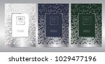 luxury premium menu design... | Shutterstock .eps vector #1029477196