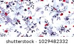 wide vintage seamless... | Shutterstock .eps vector #1029482332