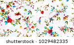 wide vintage seamless... | Shutterstock .eps vector #1029482335