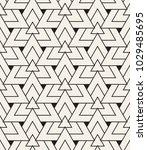 vector seamless pattern. modern ...   Shutterstock .eps vector #1029485695