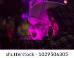 spark drummers at light up... | Shutterstock . vector #1029506305