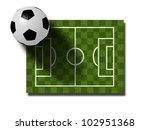 euro 2012 football fever   Shutterstock . vector #102951368