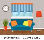 interior of modern living room... | Shutterstock .eps vector #1029514252