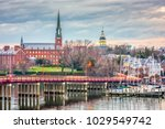 annapolis  maryland  usa state... | Shutterstock . vector #1029549742