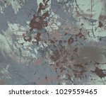 abstract painting. ink handmade ... | Shutterstock . vector #1029559465