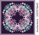 vector abstract decorative... | Shutterstock .eps vector #1029578665