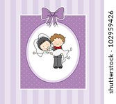wedding invitation | Shutterstock .eps vector #102959426