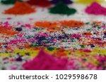 holi festival dry  gulal  red... | Shutterstock . vector #1029598678