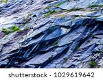 granite rock is powdered with... | Shutterstock . vector #1029619642