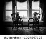 looking out a window | Shutterstock . vector #1029647326