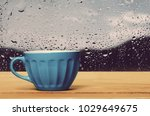 cup of tea on table | Shutterstock . vector #1029649675