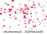 red and pink heart. valentine's ...   Shutterstock . vector #1029661645
