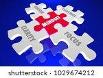 mindset clarity control focus... | Shutterstock . vector #1029674212