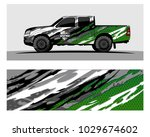 truck car and vehicle racing... | Shutterstock .eps vector #1029674602