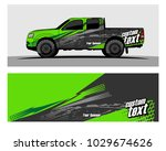 truck car and vehicle racing... | Shutterstock .eps vector #1029674626