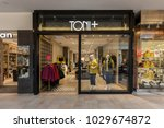 Small photo of Toronto, Canada - February 12, 2018: Toni Plus storefront in Bayview Village Shopping Centre. Toni Plus is Canada's exclusive high-end, plus-sized clothing chain.
