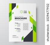 flyer brochure design template... | Shutterstock .eps vector #1029677932