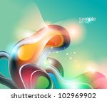 abstract aquamarine background... | Shutterstock .eps vector #102969902