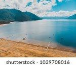 beautiful aerial landscape of... | Shutterstock . vector #1029708016