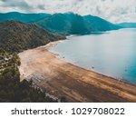 beautiful aerial landscape of...   Shutterstock . vector #1029708022