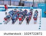 pyeongchang  south korea  ... | Shutterstock . vector #1029722872