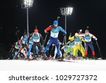 pyeongchang  south korea ... | Shutterstock . vector #1029727372