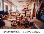 view of the production hall of... | Shutterstock . vector #1029733522
