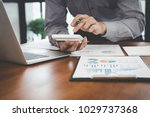 business financing accounting... | Shutterstock . vector #1029737368