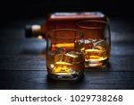 selective focus glasses of cold ... | Shutterstock . vector #1029738268